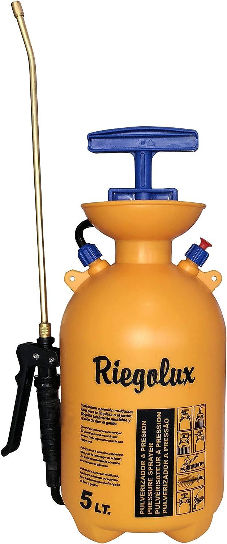 Riegolux 302756 Pulverizador Aneto 5 l, Lanza Aluminio: Amazon.es: Jardín