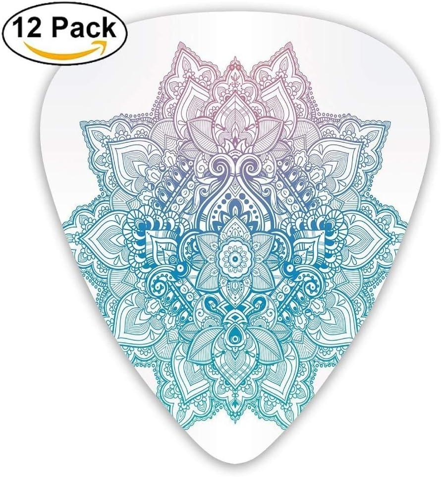 Bohemian Tattoo Style Zen Pastel Toned Mandala Abstract Lotus ...