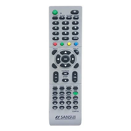 LipiWorld® SMT-22 LCD LED TV Remote Control Compatible for Sansui LCD LED TV