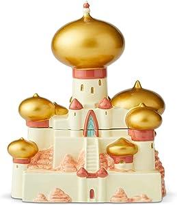 Enesco Disney Ceramics Aladdin Sultan's Palace Cookie Jar, 10.875 Inch, Multicolor