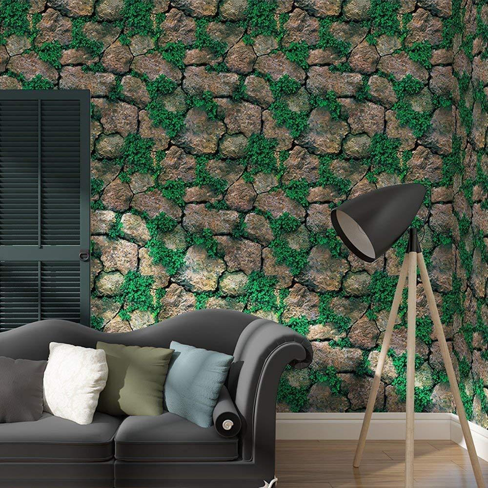 Leisu 3D ladrillo papel pintado Dise/ño Creativo Wallpaper adhesivo de pared removible pelar y pegar Para el Hogar Y Embellecimiento De La Pared Buenos Productos 45x200 cm 1, A4