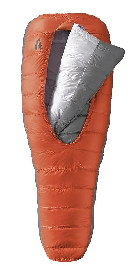 Sierra diseños DriDown Cama de Acampada 600-fill Saco de Dormir, Color Red Clay