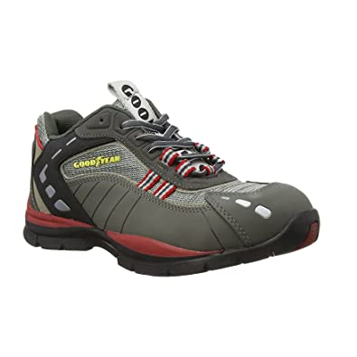 details for best supplier fashion Goodyear Gyshu3011, Unisex Adults' SRA Safety Shoes, Grey (Grey ...