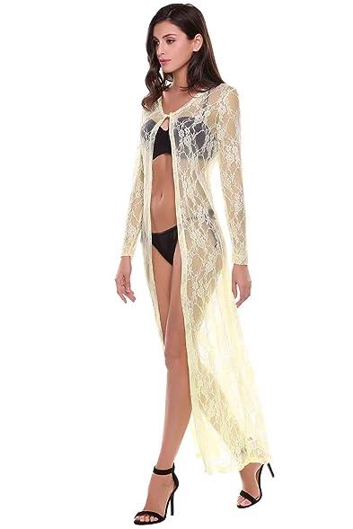 Maxi cardigan dress