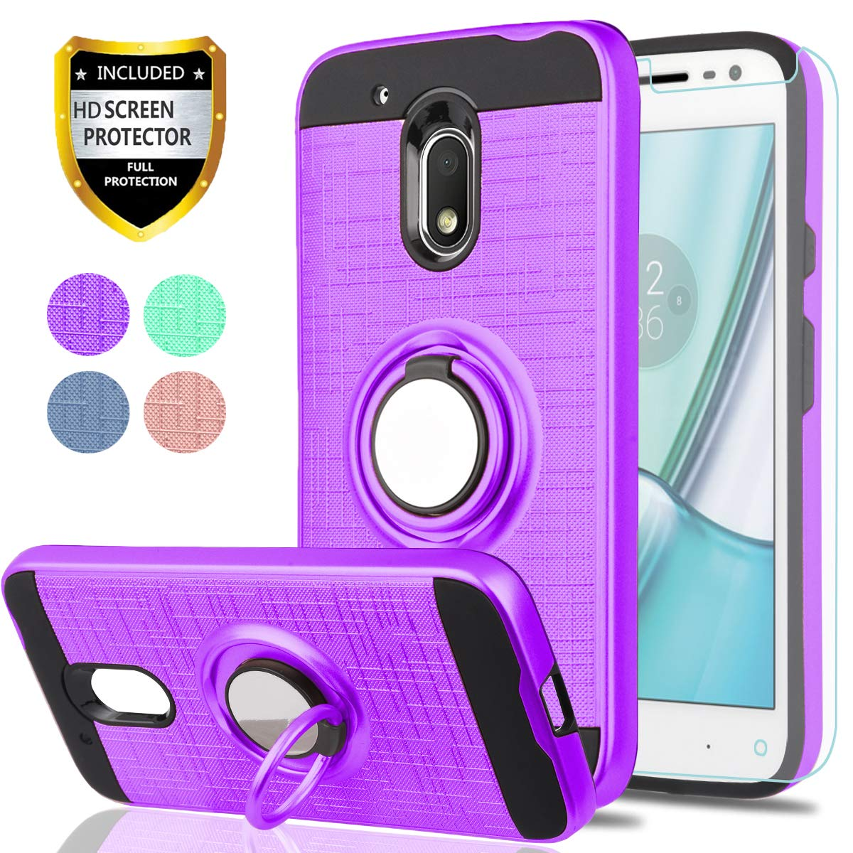 Amazon.com: Moto G4 Play Case, Moto G Play 4ta generación ...