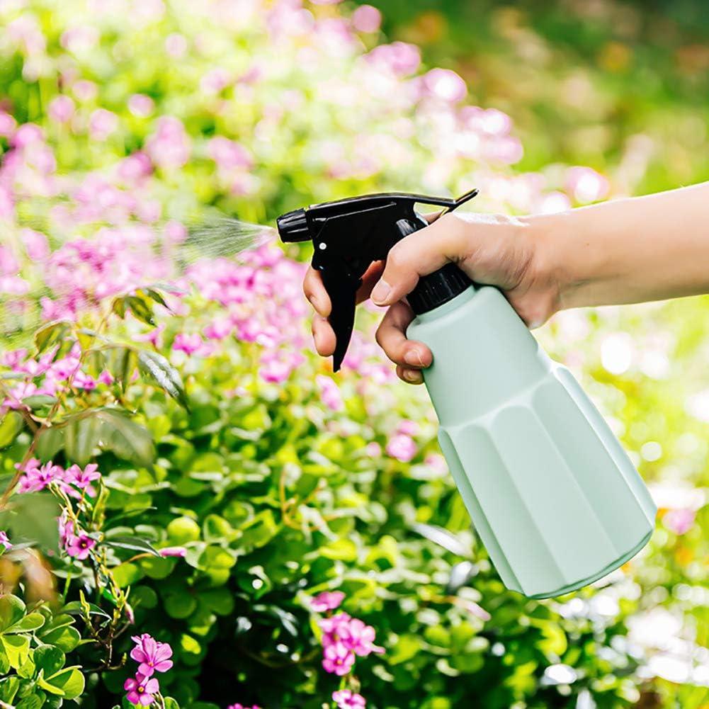SZQLF 2 Pieces Spray Bottles Empty Plastic Bottles Trigger Spray Bottles for Cleaning, Gardening, 500ml,Green Green