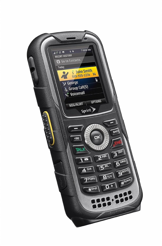 amazon com kyocera duraplus black sprint cell phones