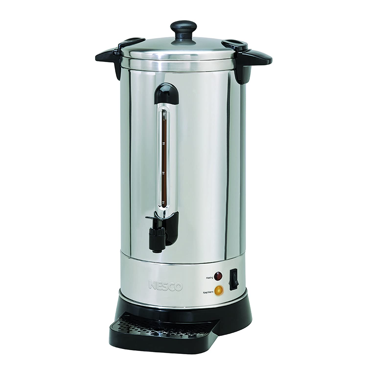 Amazon.com: Nesco Professional Coffee Urn Stainless Steel: Kitchen ...