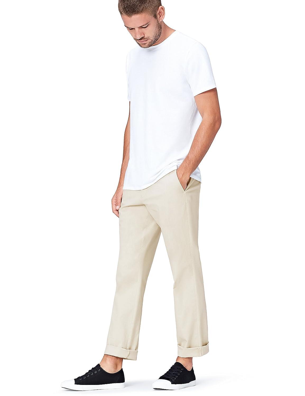 FIND Pantaloni Chino Regular Fit Uomo 628581