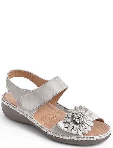 Damen Polster Spaziergang Touch befestigen Sandale QmS3Cdn