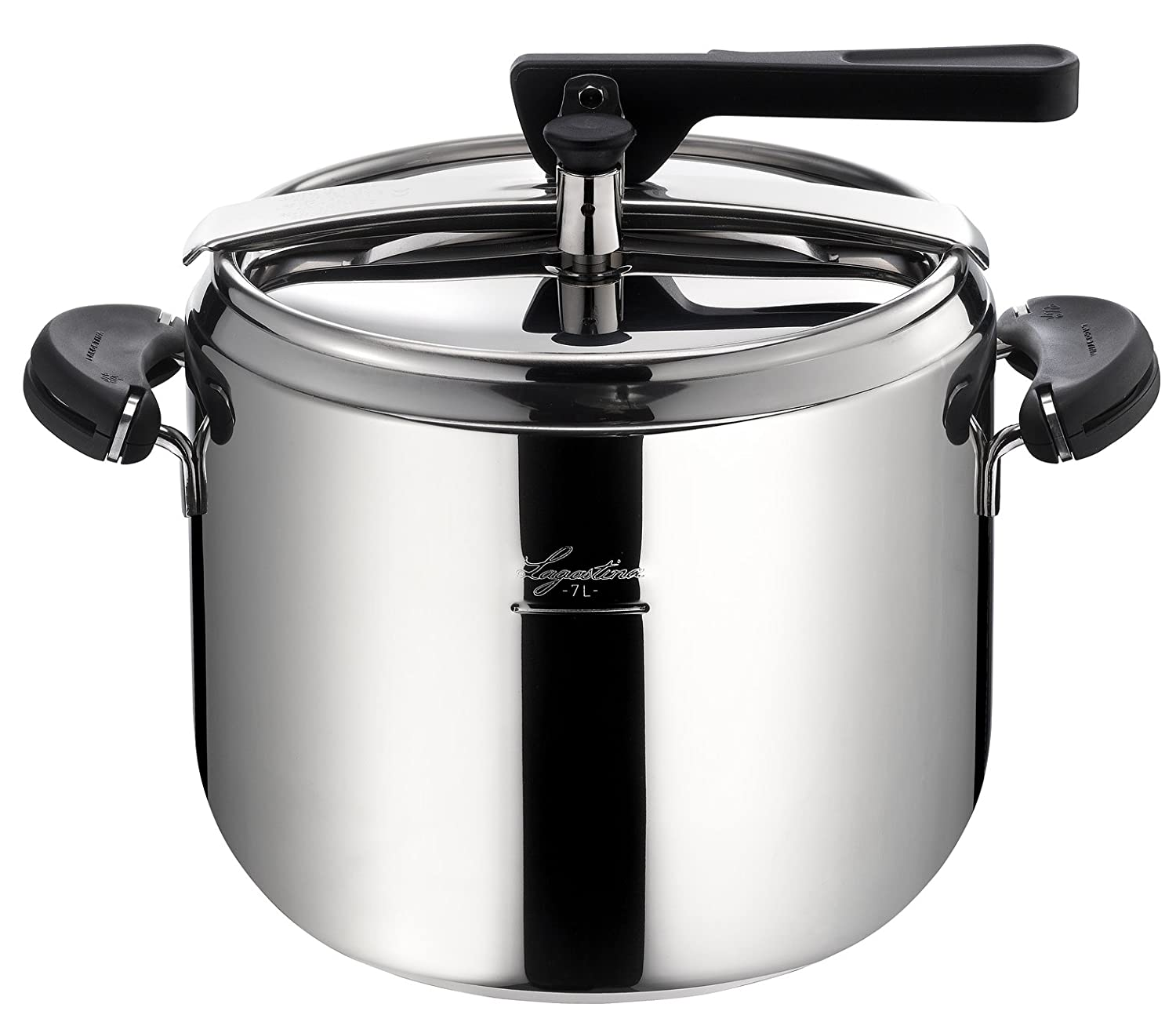 Lagostina Gaia 7L Pressure Cooker with Basket and Recipe Book Included:  Amazon.ca: Home & Kitchen