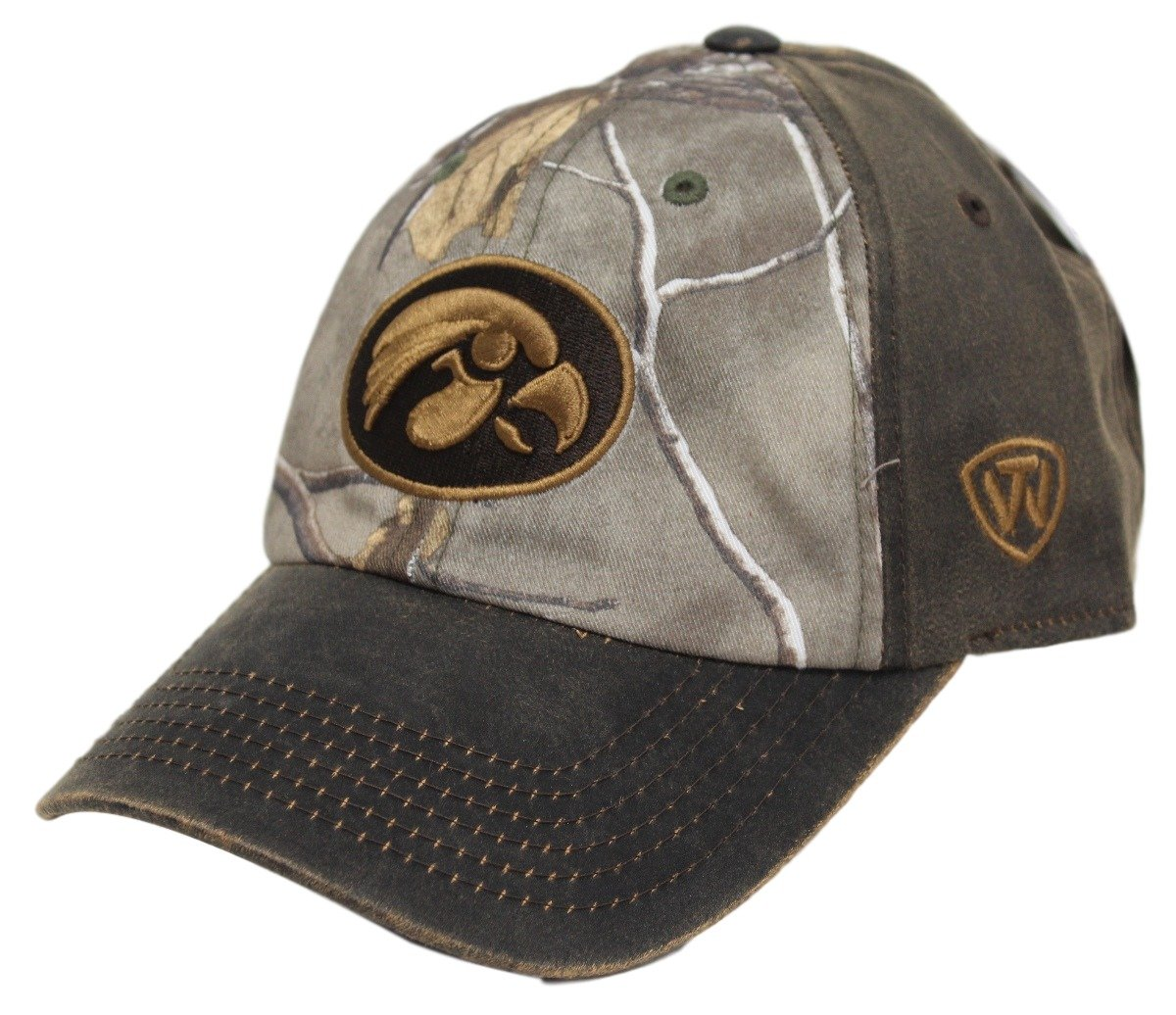 pretty nice 0a1d2 8fc2f ... germany amazon iowa hawkeyes ncaa tow driftwood realtree camo  adjustable hat sports outdoors 611a3 fceff