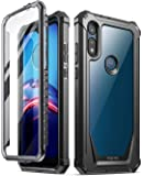 Poetic Guardian Series Designed for Moto E 2020 Case, Moto E7 Case,Full-Body Hybrid Shockproof Bumper Cover with Built…