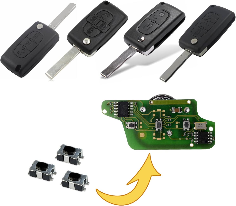 Myshopx Microtaster Taster Fernbedienung Schlüssel Fernbedienung Taster Micro Smd Taster Autoschlüssel Mp08k Auto