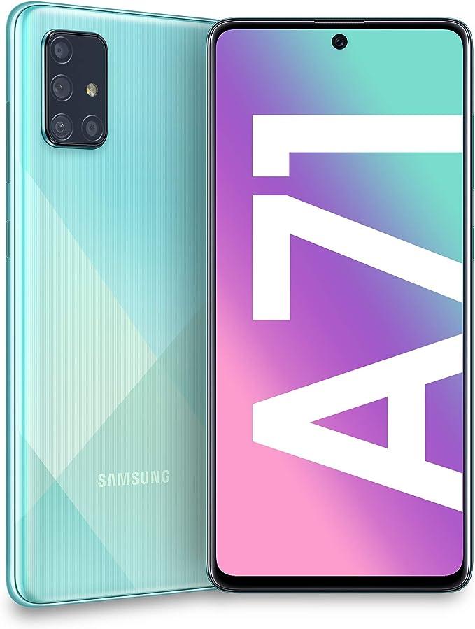 Samsung Galaxy A71 Dual SIM 128GB 6GB RAM SM-A715FN/DS Blue ...