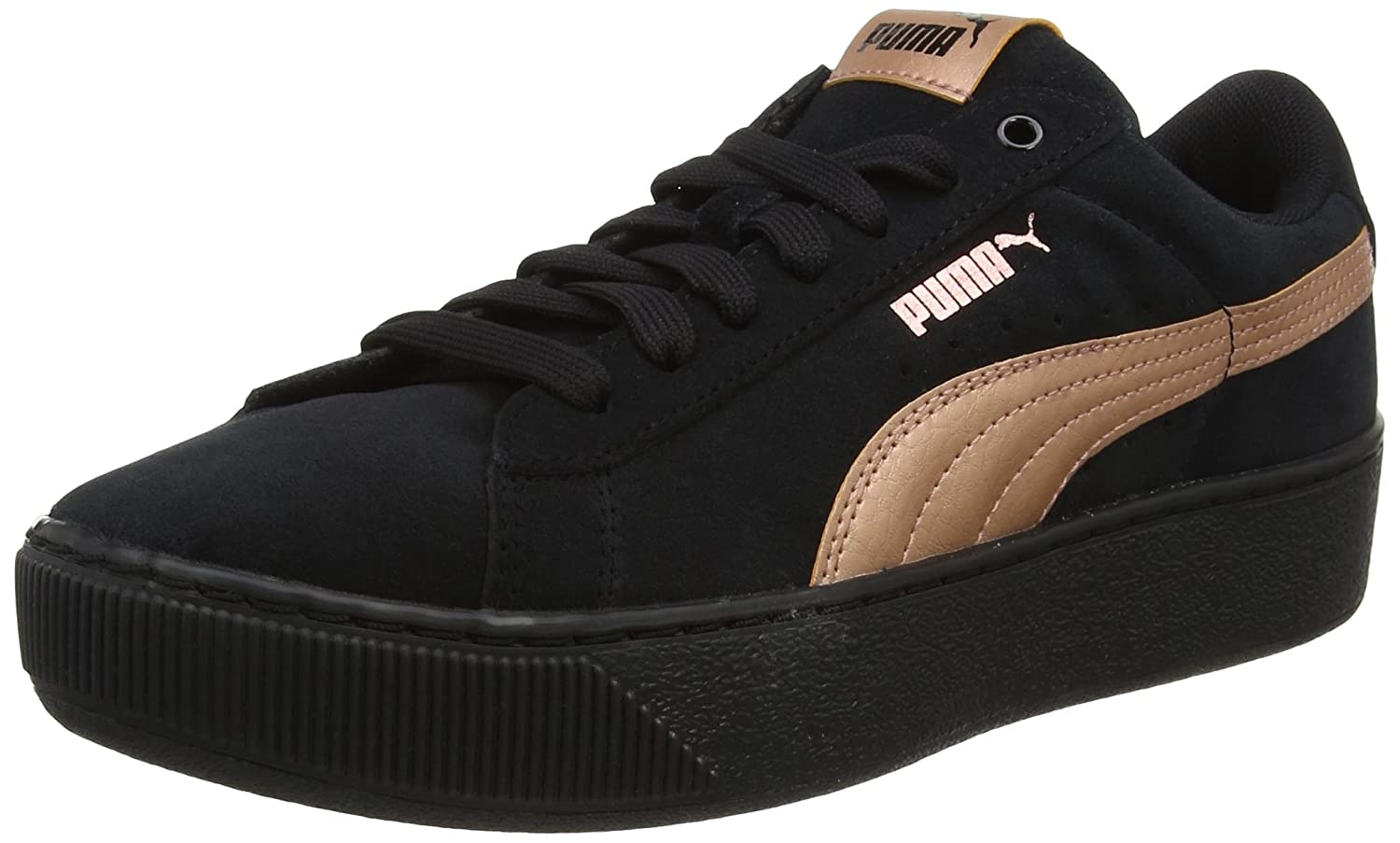 Puma Vikky Platform RG, Sneaker Donna Nero (Black-copper Rose)