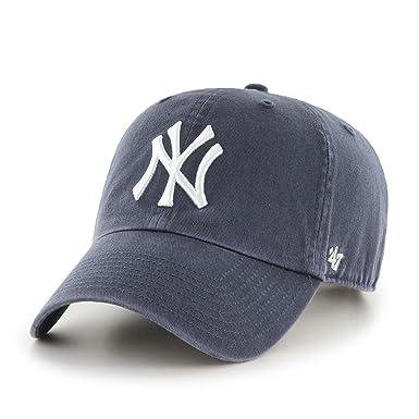 amazon com 47 brand new york yankees clean up mlb dad hat cap