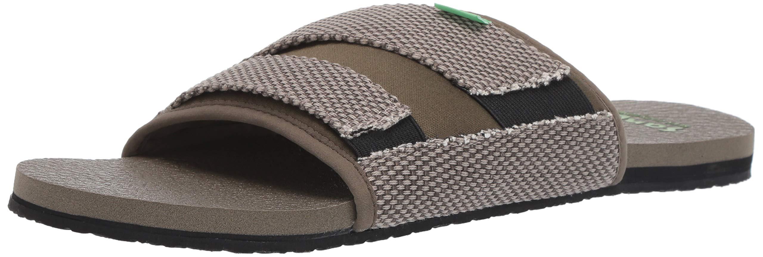 Sanuk-Men-039-s-Beer-Cozy-2-Slide-Sandal-Choose-SZ-color thumbnail 11