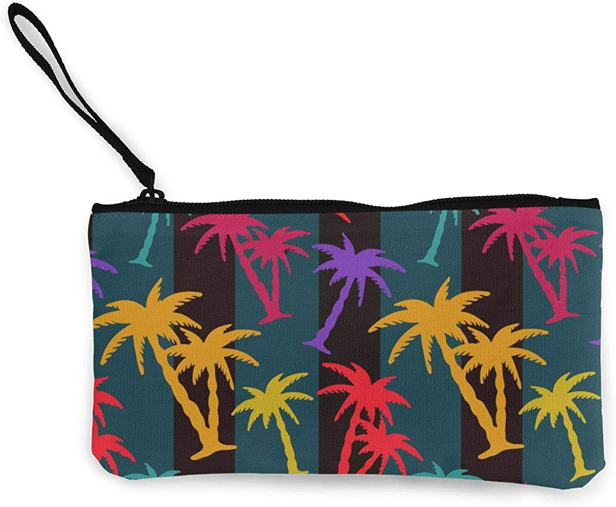 Palm Trees Wallet Coin...