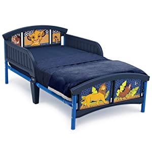 Delta Children Plastic Toddler Bed, Disney The Lion King