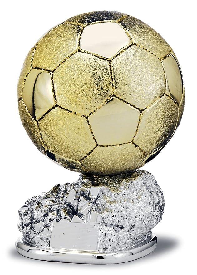 Trofeo réplica balón de oro personalizado GRABADO (29): Amazon.es ...