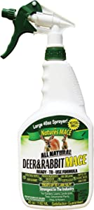 Nature's Mace Deer and Rabbit Repellent 40oz Ready-to-Use Spray
