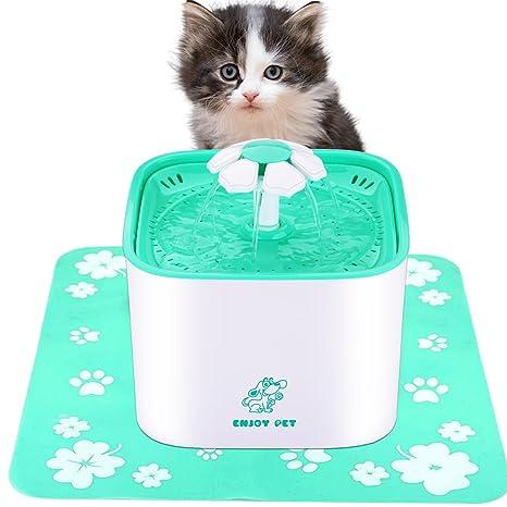 Amazon.com: Disfrutar de mascota, gato fuente 2L automático ...