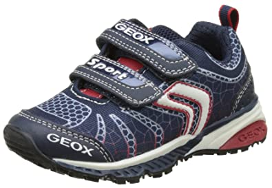 Geox J Bernie C, Zapatillas para Niños, Azul (Navy/Blue), 26 EU