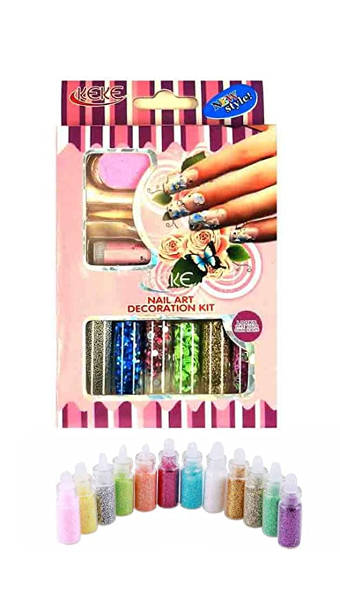Buy Iris 7 18 Bottle Nail Art Decoration Kit Online at Low Prices in ...