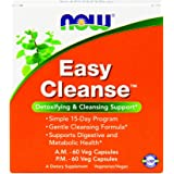 NOW Easy Cleanse AM PM,120 Veg Capsules