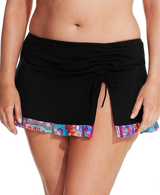 e7fd1959a0 Profile by Gottex Plus Size Printed-Hem Swim Skirt Bottom Women's Swimsuit  (20W,