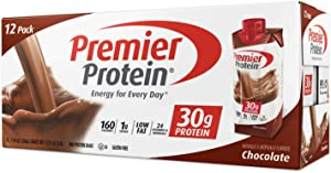 Premier Protein Hormone Free Shakes 11 oz., 18-pack-Chocolate