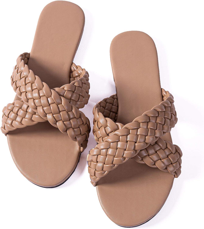 Women Flat Sadals Woven Leather Flip-Flops Pearls Bow Sandals Beach Rivets Rain Jelly Gold Pearls