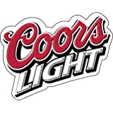"""Coors Light Beer Vinyl Sticker Decal 4""""x5"""" Car Bumper Laptop Toolbox"""