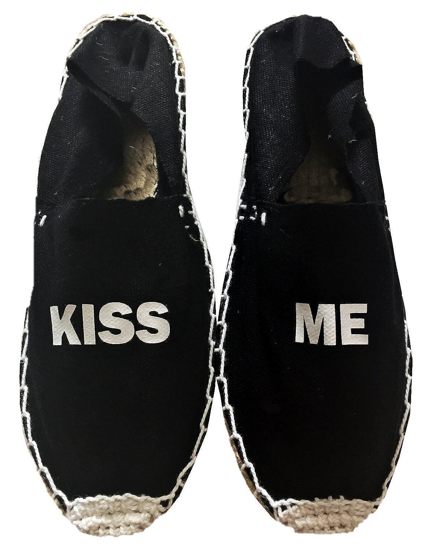 Alpargatas Negras Kiss ME: Amazon.es: Zapatos y complementos