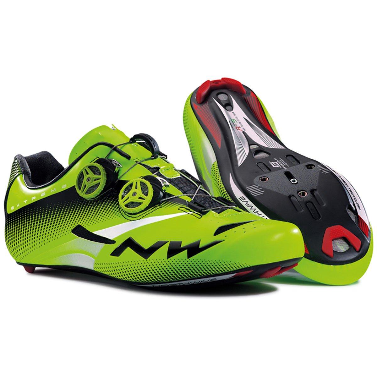 Northwave Extreme Tech Plus 2015 verde zapatos de bicicleta de carretera