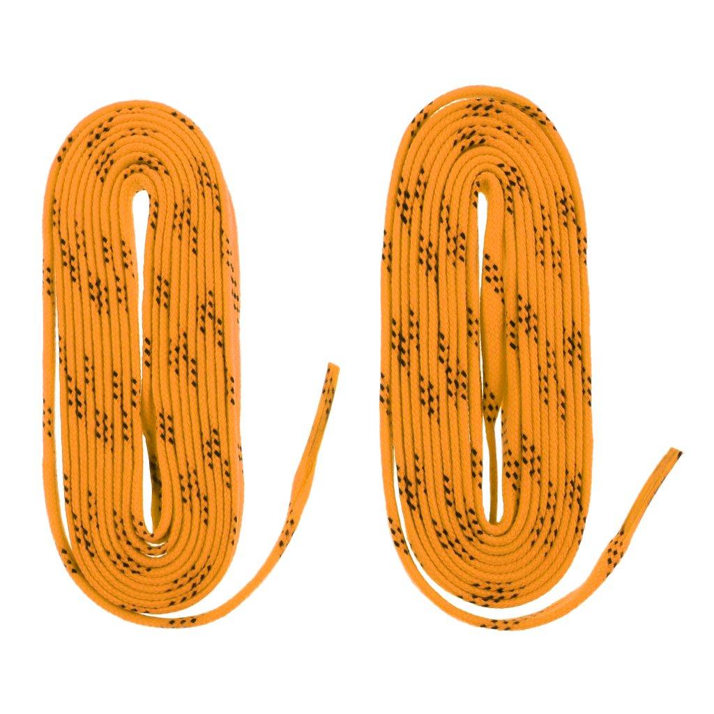 perfk Patines De Zapato De Hockey Sobre Hielo De Alta Resistencia De 96 108 120 Mantener Atados Y Apretados