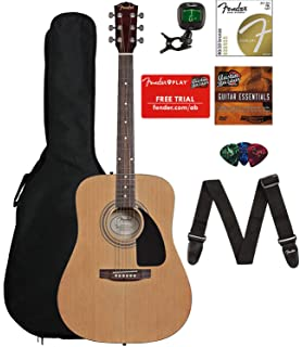 Amazon Com Martin Smith 6 String Acoustic Guitar Superkit With