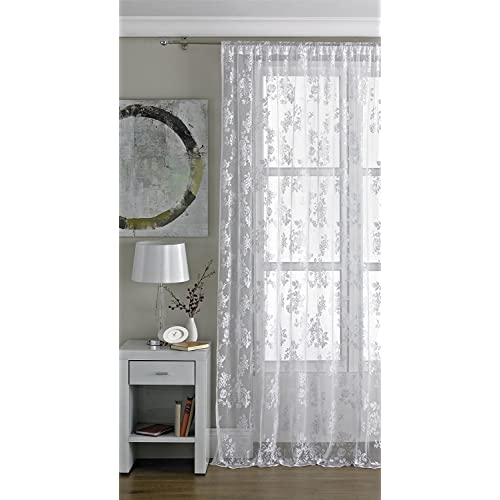Lace Curtains Amazon: Lace Curtains Panels: Amazon.co.uk
