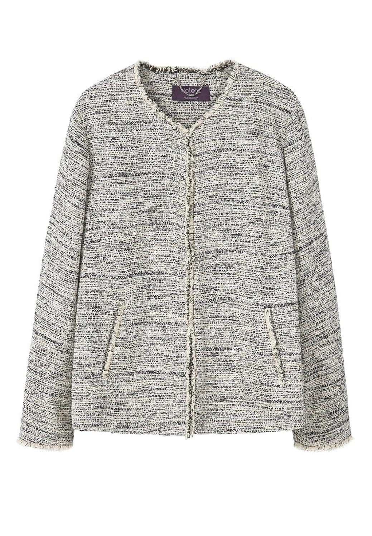 VIOLETA (Plus Size) - Zweifarbige Jacken tweed-jacke