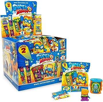 Súperzings- Caja 24 Guaridas Serie 2, Multicolor (Magic Box MBXPSZ2D824IN00): Amazon.es: Juguetes y juegos