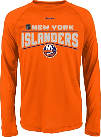 premium selection 90d9d 79315 Amazon.com: New York Islanders Orange Youth Reebok TNT ...