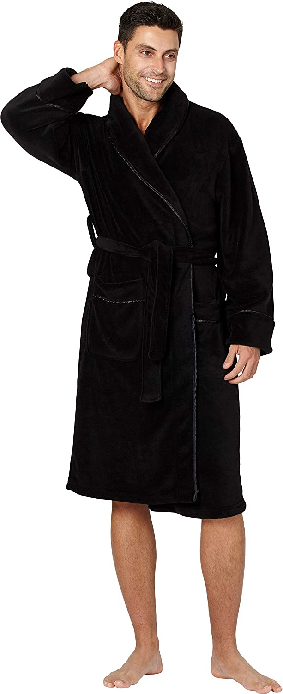INTIMO Black Corbel Robe