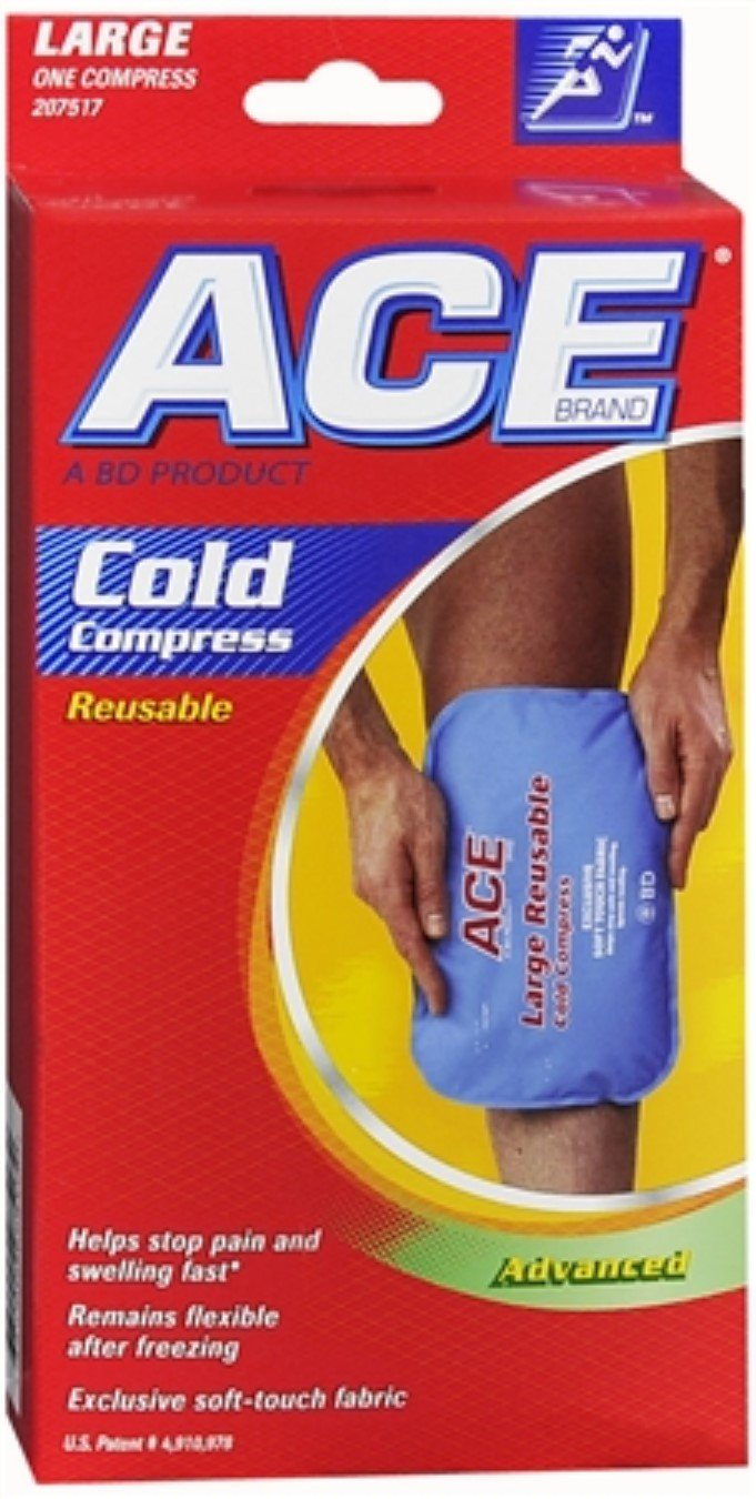 ACE Cold Compress Reusable Large 1 Each (Pack of 10)
