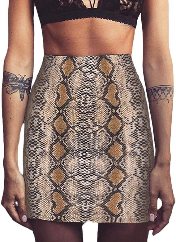 Lannister Fashion Falda Mujer Vintage Casuales Patrón De ...