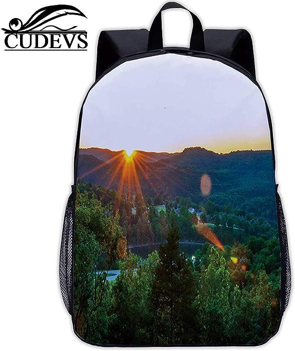 Eureka Springs Sunset,Small Bag,167042,Dinner,17in12.2 Lx5.5 Wx17 H