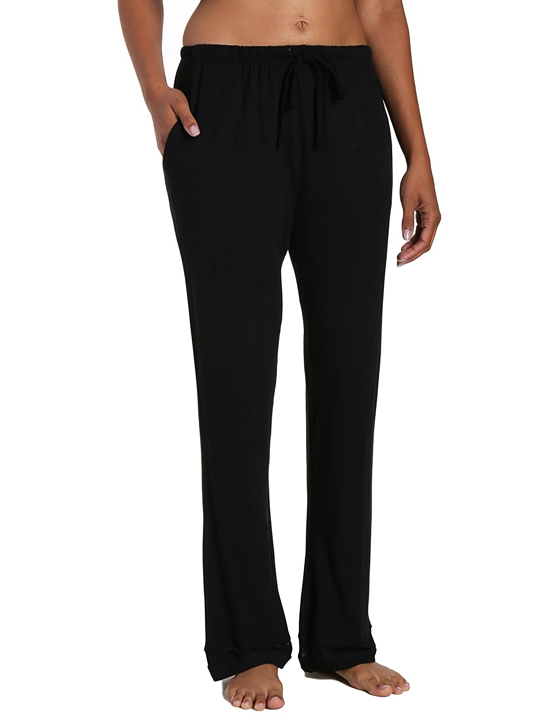 Noble Mount Womens Eco-PJ Bamboo Lounge Pant