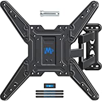 "Mounting Dream TV Wall Mounts TV Bracket for Most 26-55"" TVs, TV Mount with Perfect Center Design, UL listed, Full Motion TV Wall Mount with Swivel Articulating Arm, Max VESA 400x400mm, MD2413-MX"