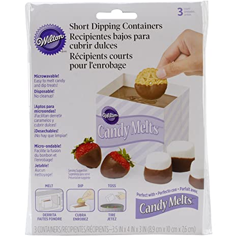 Wilton 1904-100 Dipping Disposable Tray
