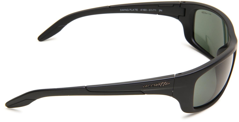 Gafas de Sol Arnette AN4160 SWING PLATE MATTE BLACK / GREEN: Amazon.es: Ropa y accesorios